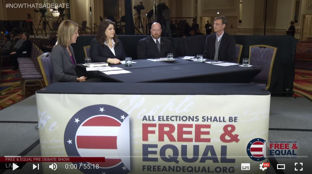 Free And Equal Pre Debate Show,10/23/2012
