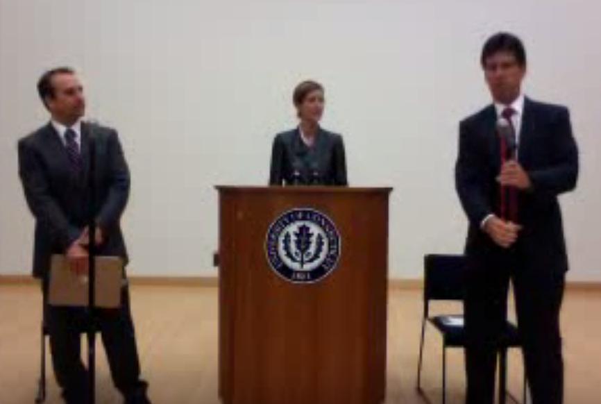 Connecticut 2010 Senatorial Debate