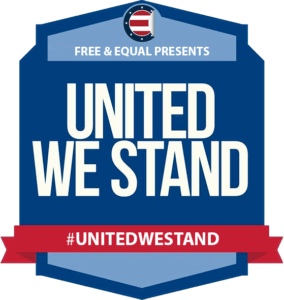 Free and Equal Elections Foundation United We Stand Logo