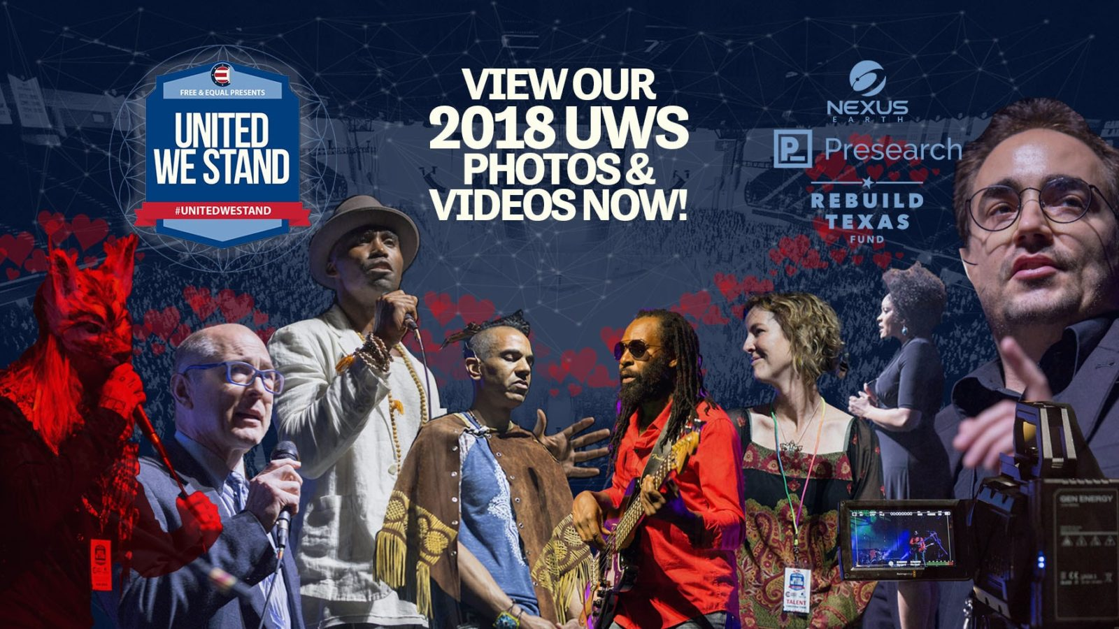 View Our 2018 United We Stand Photos & Videos